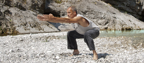 Digressione in punta di piedi (Yong Quan, fonte gorgogliante)