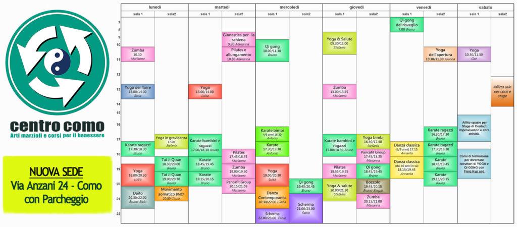 Calendario Corsi.Calendario Corsi 2018 Centro Como Corsi